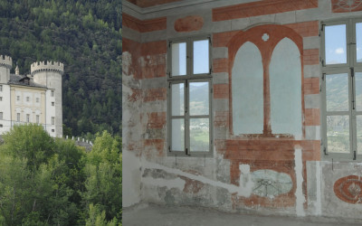 Restauro e allestimento museografico del Castello di Aymavilles (AO)
